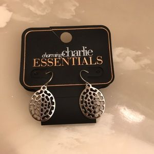 Charming Charlie's BRAND NEW SILVER DANGLES